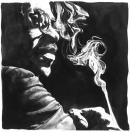 FLYING SMOKE<br /><br />100x100<br />Olio su tela<br />Collezione privata